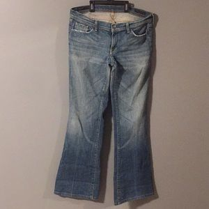 Citizens of Humanity low waist flair jeans size 32